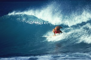 Surfing workout